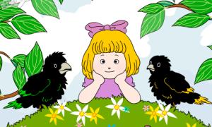 2 blackbirds