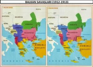 1. ve2. balkan savaşları