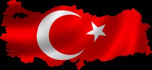 harita türk bayrağı