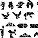 Karışık Tangram Şekilleri