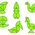 yumurta tangramla yapılan şekiller