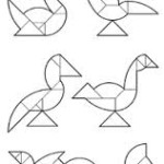 tangram kuşları- yumurta tangram