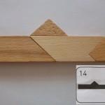 14 numaralı t tangram çözümü