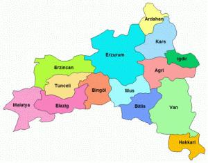 doğu anadoludaki şehirler