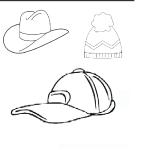 şapka resmi boyama