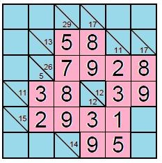 kakuro puzzle 2