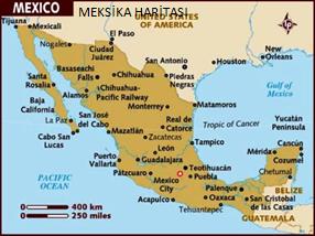 MEKSİKA HARİTASI