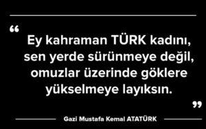 Atatürkün Türk Kadını Ile Ilgili Sözleri Arabulokucom