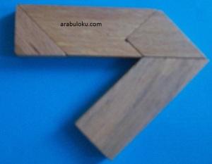 15 numaralı tangram çözümü