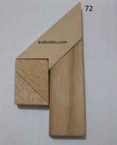 72 numaralı t tangram çözümü