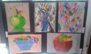 pastel boya örnekleri