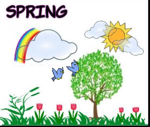 ilkbahar resmi