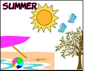 yaz resmi