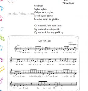madımak türküsü notaları