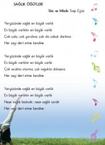 5. sınıf müzik şarkıları