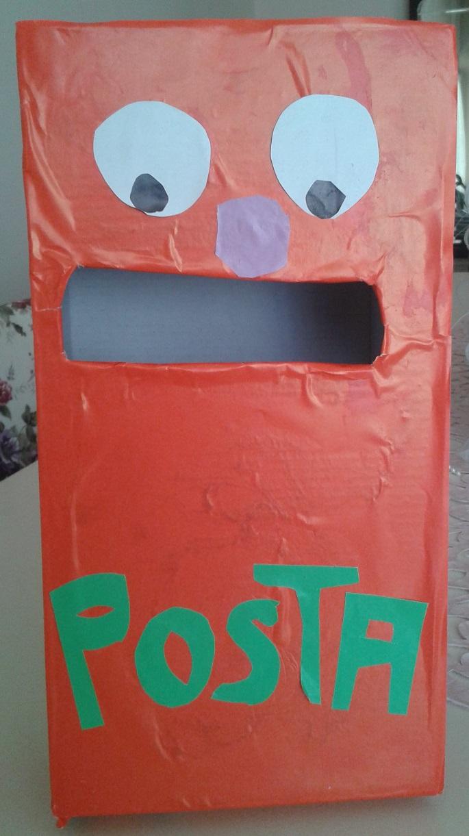 Kartondan Posta Kutusu Yapımı Okul öncesi Farklı Etkinlik