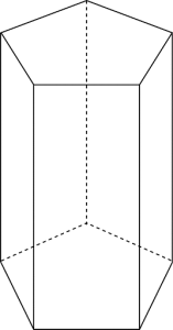 beşgen prizma