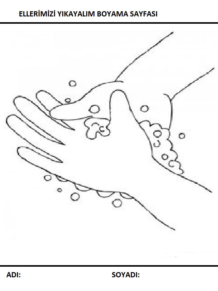 Temizlik Boyama Sayfalari Sayfa 8 9 Yeter Ki Siz Okuyun