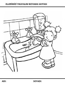 Temizlik Boyama Sayfalari Sayfa 9 9 Yeter Ki Siz Okuyun