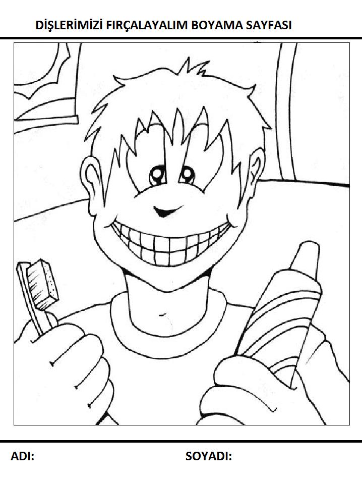 Temizlik Boyama Sayfalari Sayfa 2 9 Yeter Ki Siz Okuyun