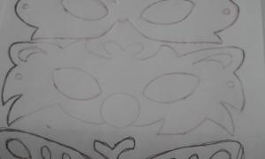 maske çizimi