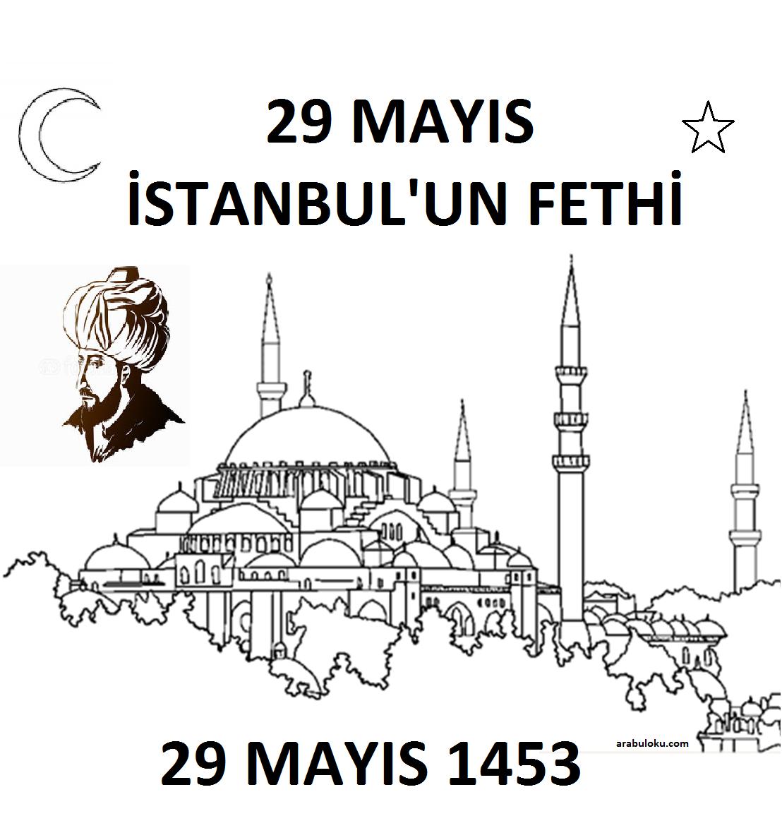 29 Mayis Istanbul Un Fethi Boyama Sayfalari Sayfa 2 2 Yeter