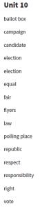 6.sınıf ingilizce kelimeleri