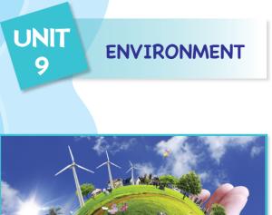 unit 10 environment