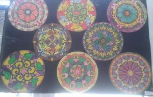 mandala çalışmalarından örnekler
