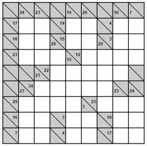 kolay 8x8 kakuro