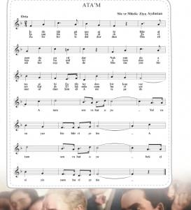 atam marşı flüt notaları